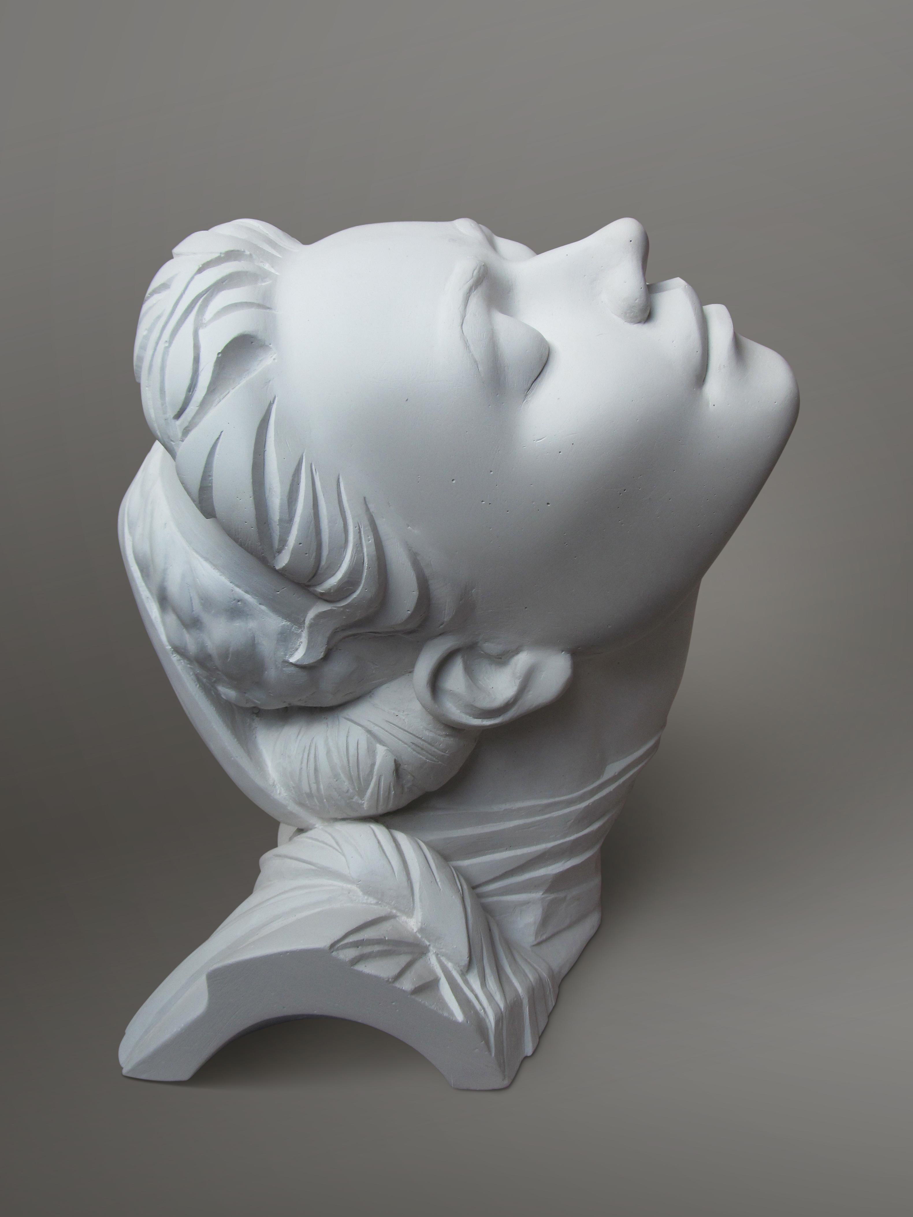ограждением картинки гипсовых скульптур бревна